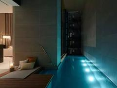 A true luxury apartment comes with a swimming pool