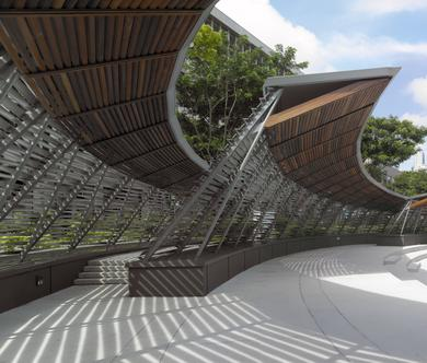 Dhoby Ghaut Green Singapore Architecture Scda