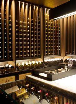 Set Within The Premises Of Holland Road Residence, The Wine Cellar Was  Conceived As An Intimate Space For The Enjoyment, Display And Storage Of  Wine.
