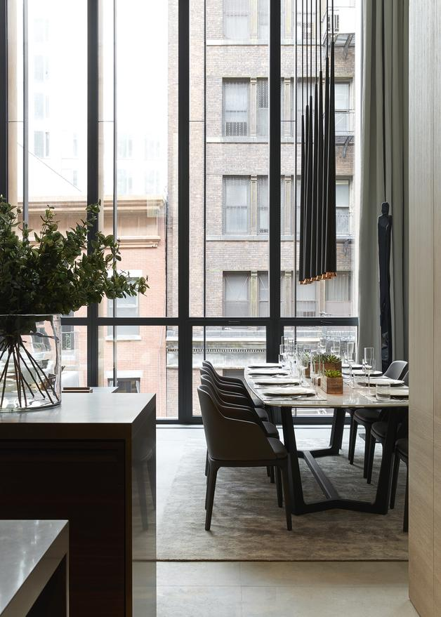 Soori high line new york interiors scda for Nyc interiors