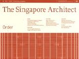 Singapore Institute of Architects (SIA): Order
