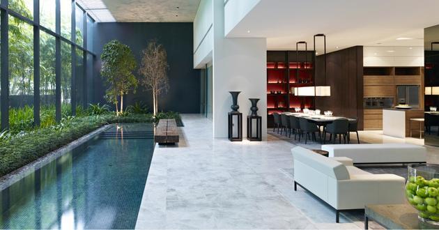Leedon Residence I - Singapore - Interiors - SCDA