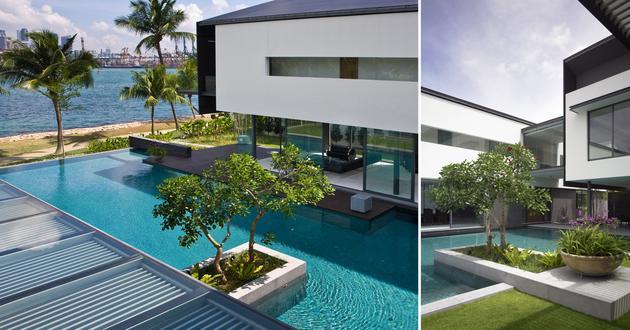Harbourview House Singapore Landscape Scda