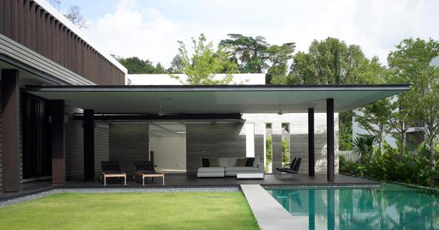 Ridout House - Singapore - Landscape - SCDA