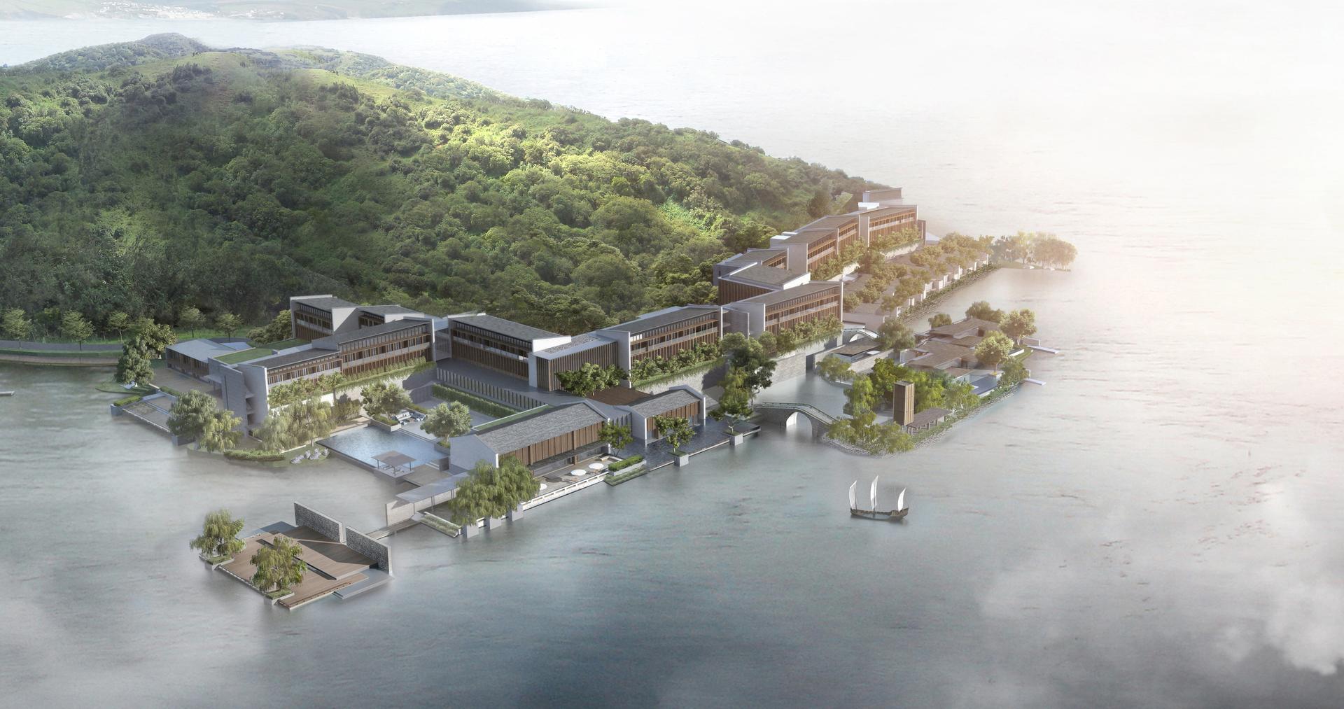 太湖三山岛首丽斯酒店