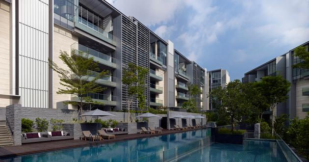 东南亚建筑风格_Nassim Park Residences - 新加坡 - 建筑设计 - SCDA