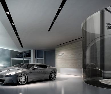 Aston Martin Showroom Singapore Architecture SCDA - Car showrooms
