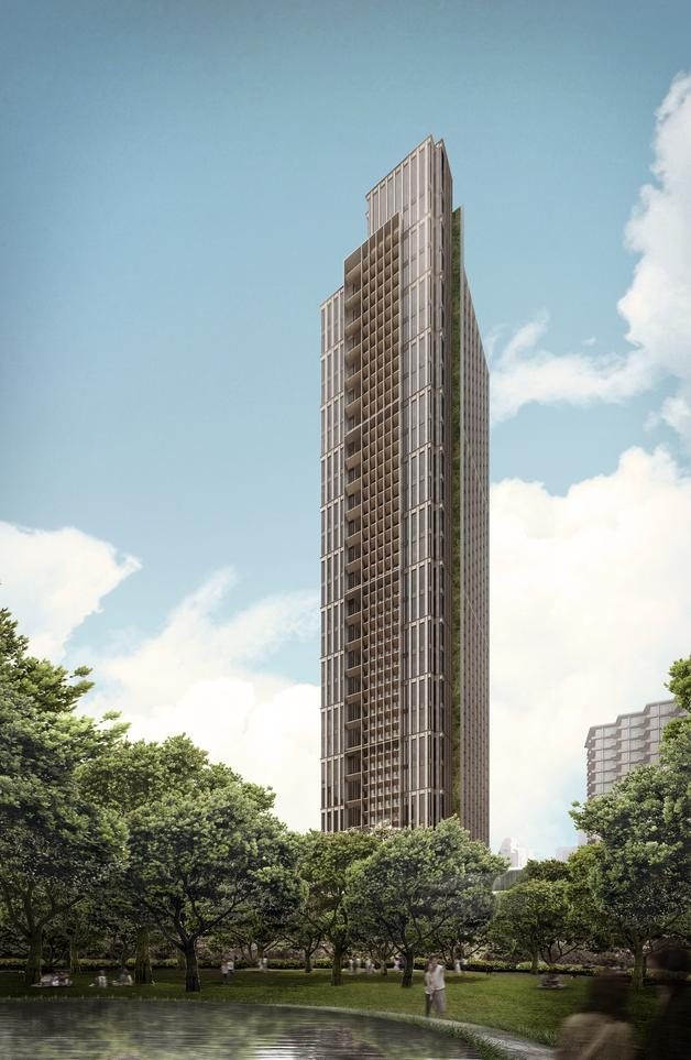 Tokyo residences new projects scda for Da architecture