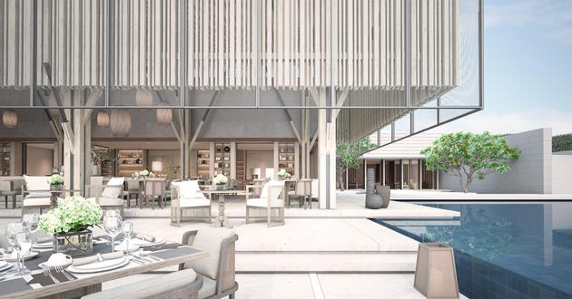 Waldorf Astoria Bali Bali Architecture Scda