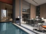 GOTHAM – Soo Chan的公寓拥有室内泳池